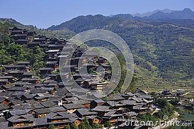Hmong village