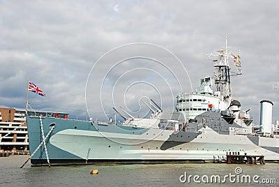 HMS Belfast Editorial Image