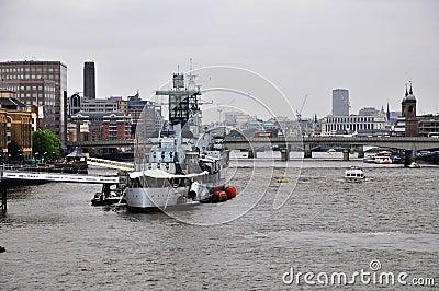 HMS Belfast Battleship