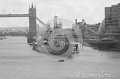 HMS Belfast Battleship - London