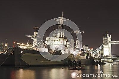 HMS Belfast Tower bridge