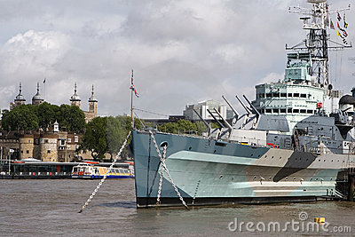 HMS Belfast & Tower of London