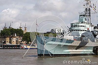 HMS Belfast & Tower of London