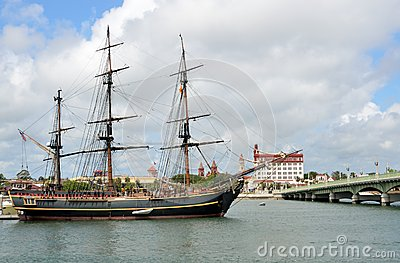 The HMS Bounty Editorial Photo