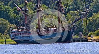 HMS Bounty Editorial Stock Image