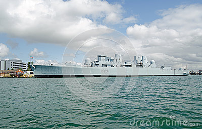 HMS Bristol, Portsmouth Editorial Image
