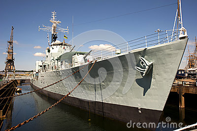 HMS Cavalier Editorial Stock Image