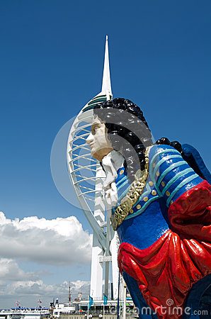 HMS Marlborough Figurehead, Portsmouth