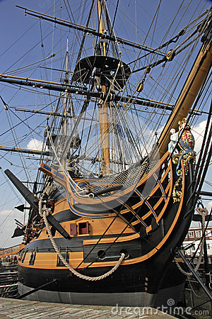 HMS Victory Editorial Image