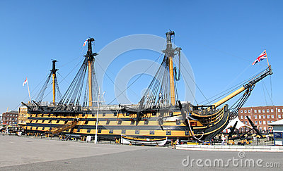 Hms Victory Editorial Stock Image