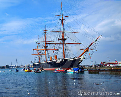 HMS Warrior Editorial Image