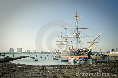 HMS Warrior Editorial Photography