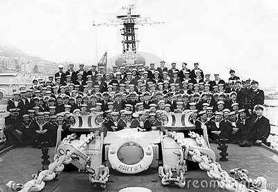 HMS Whitby 1961 Editorial Stock Image
