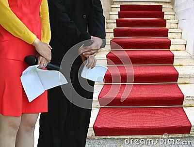 Händelse för röd matta