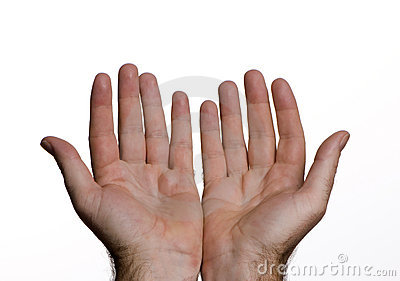 Händer öppnar