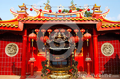 The Ho Ann Kiong Chinese Temple Editorial Image