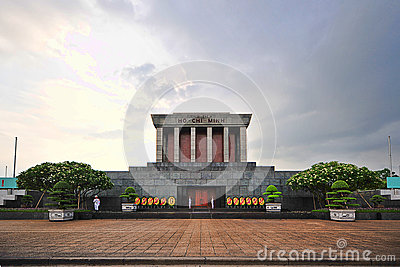 Ho Chi Min Masoleum, Hanoï Photo éditorial