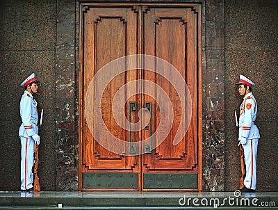 Ho Chi Min Masoleum, Hanoi Editorial Stock Photo