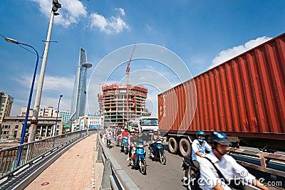 Ho Chi Minh City, Vietnam Editorial Stock Image