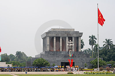 Ho Chi Minh mausoleum Editorial Photography