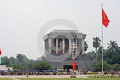 Ho Chi Minh mausoleum Editorial Photography