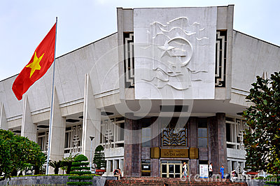Ho Chi Minh Museum,Hanoi,Vietnam Editorial Stock Photo