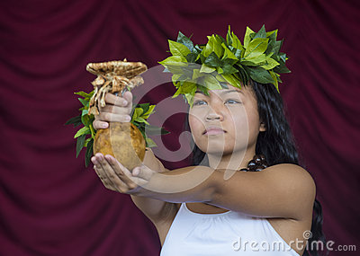 Ho olaule a Pacific Islands Festival Editorial Stock Image