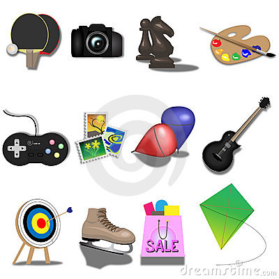 Free Hobbies Royalty Free Stock Photos - 8802098