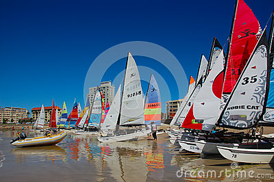 Hobie nationals South Africa Editorial Stock Image