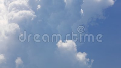 Hochragendes Cumulonimbus Cloudscape-Time Lapse stock footage