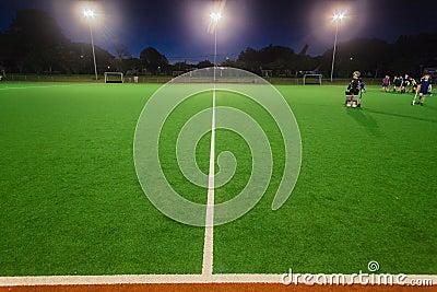 Hockey Astro Night Practice Editorial Photo