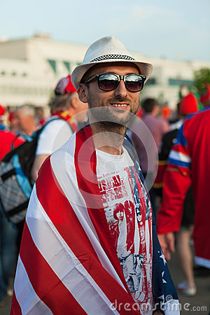 The hockey fan from United States of America