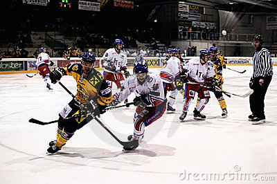 Hockey game Editorial Stock Photo
