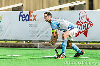 Hockey International Argentina V South-Africa Editorial Stock Photo