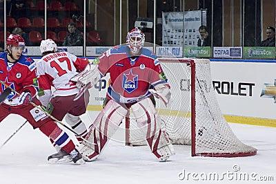 Hockey match Editorial Photo
