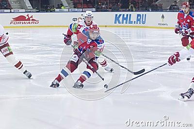 Hockey match Editorial Image
