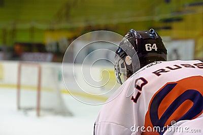 Hockey Milano Rossoblu Editorial Photography