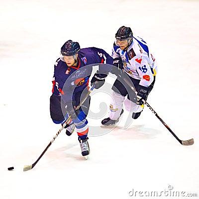 Hockey players Editorial Photography