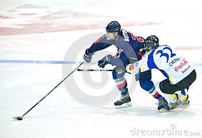 Hockey players Editorial Photography