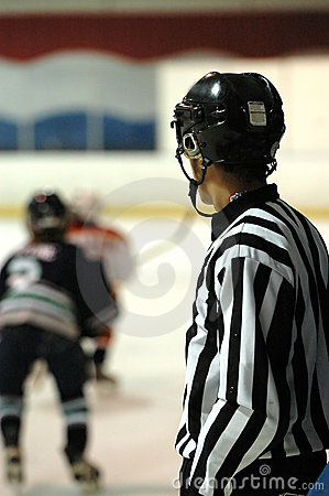 Free Hockey Referee Royalty Free Stock Photography - 1163977