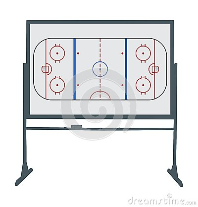 Hockey ring board