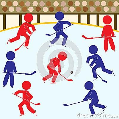 Hockey Teams Icon Set