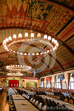 Hofbrauhaus: location of Hitlers first speech Editorial Stock Photo