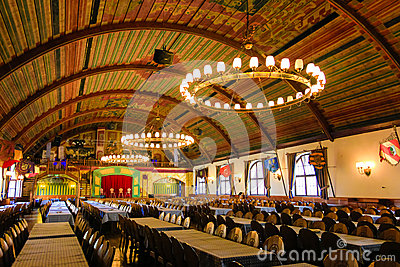 Hofbrauhaus: location of Hitlers first speech Editorial Image