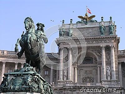Hofburg Heldenplatz Vienna, Austria