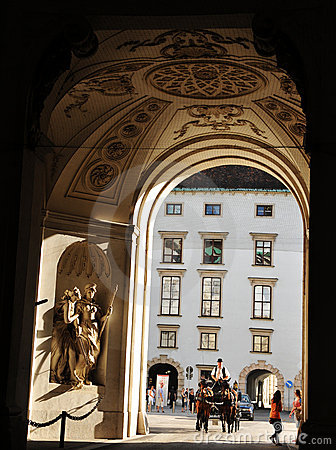 Hofburg Palace, Vienna Editorial Stock Photo