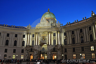 Hofburg palace Vienna architecture