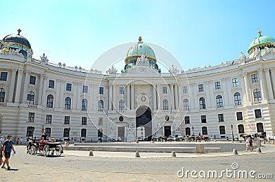 Hofburg palace, Vienna, Austria Editorial Image
