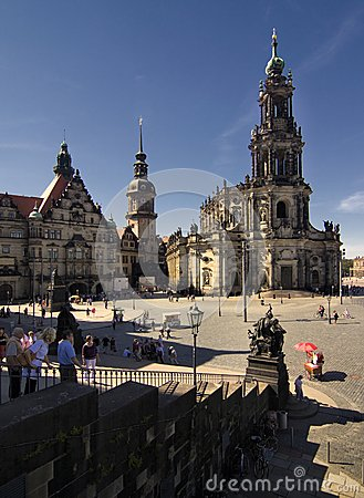 Hofkirche Editorial Photo