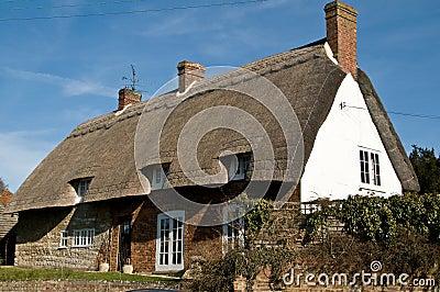Hogar rural británico clásico